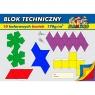 Blok techniczny Flamingo A4/10k - kolorowy (301012)