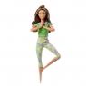 Barbie: Made to Move - lalka w zielonym ubranku (FTG80/GXF05)