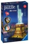 Puzzle 3D. Statua Wolności nocą 108 elementów (125968)