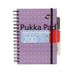 Kołobrulion A4 Pukka Pads 200 stron w kratkę Executive Project Book