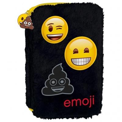 Piórnik dwukomorowy F Emoji 11 DERFORM