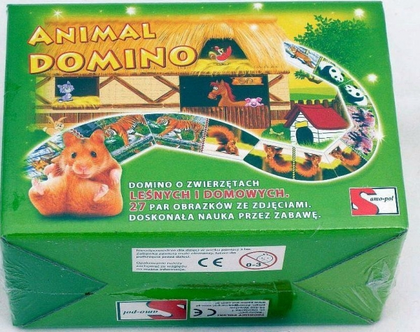 Gra - Domino Animal SAMO-POL