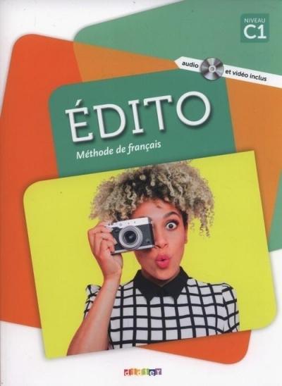 Edito C1 Methode de francais + DVD Pinson Cecile