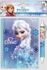 Kołonotatnik A6 + długopis Frozen