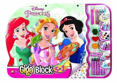 Giga Block - Zestaw dla artysty 5w1 - Princess