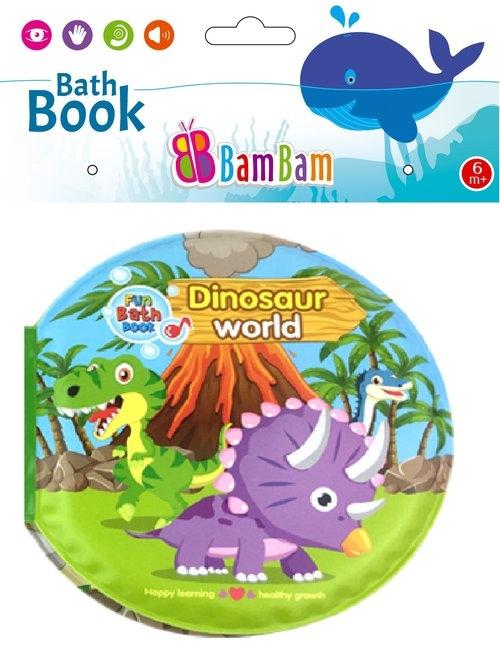 Książeczka do kąpieli Świat Dinozaurów
