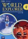 World Explorer 4 Podręcznik z płytami 2xCD