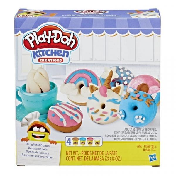 Masa plastyczna Play-Doh Pączki i pączuszki (E3344)