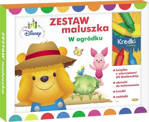 Zestaw maluszka W ogródku Kozłowska Urszula