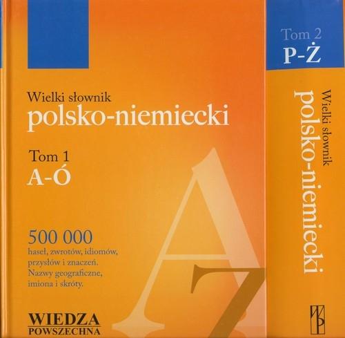 Wielki słownik polsko niemiecki Tom 1-2 - Piprek Jan - książka