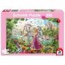 Puzzle 200: Księżniczka w zaczarowanym lesie