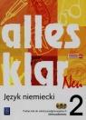 Alles klar Neu 2 Podręcznik + 2CD Zakres podstawowy Szkoła Łuniewska Krystyna, Tworek Urszula, Wąsik Zofia