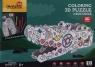 Puzzle 3D Smok do kolorowania (P697h)