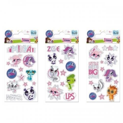 Naklejki Sticker BOO brokatowe - Littlest Pet Shop