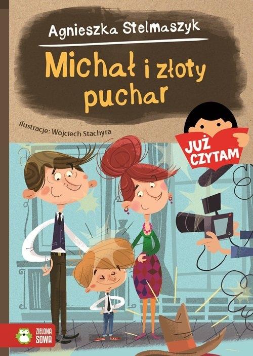 Michał i złoty puchar Stelmaszyk Agnieszka