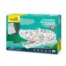 Puzzle 3D: Zestaw do kolorowania - krokodyl (306-20697)