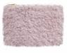 Piórnik saszetka futrzany różowy (0033-0199)