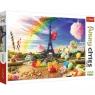 Puzzle 1000: Funny Cities - Słodki Paryż (10597)