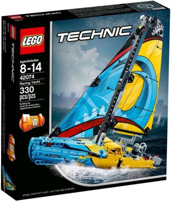 LEGO Technic: Jacht wyścigowy (42074)