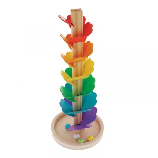 Zabawka drewniana Tęczowy kulodrom (61397)