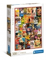 Clementoni, puzzle High Quality Collection 500: Classic romance (35097)