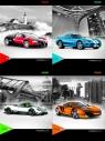 Zeszyt A5 Top-2000 w linie 32 kartki Powerfull Car Mix