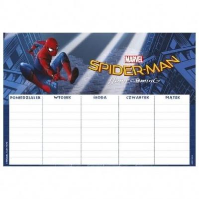 Plan Lekcji Spider-Man HC Mix (25szt) DERFORM