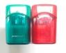 Temperówka podwójna z pojemnikiemmix kolorów