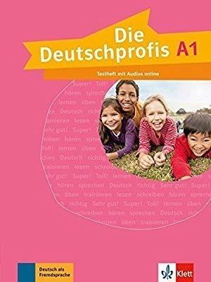 Die Deutschprofis A1 Testheft + audio online praca zbiorowa