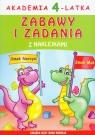 Akademia 4-latkaZabawy i zadania z naklejkami Paruszewska Joanna