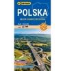 Polska, 1:650 000 - mapa samochodowa (1561-2020)