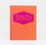 Kołozeszyt A4 Pukka Pad Jotta Neon 200 stron pomarańczowy (7151-NEO(SQ))