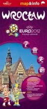 Wrocław Euro 2012 - 1:22 500 mapa i miniprzewodnik