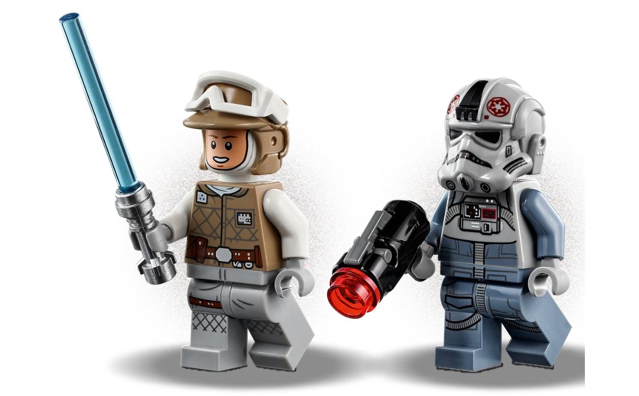 Lego Star Wars: Mikromyśliwce - AT-AT kontra Tauntaun (75298)