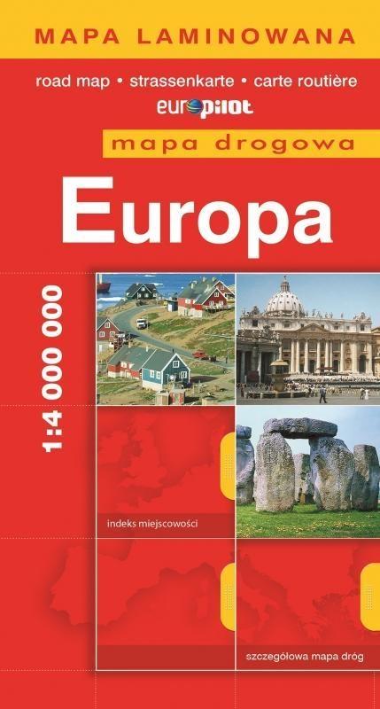 Europa mapa drogowa