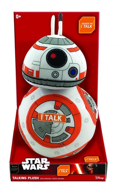 Star Wars. Mówiąca maskotka BB-8 30 cm