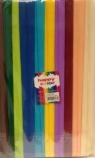 Bibuła marszczona 25x200cm mix C 10 rolek