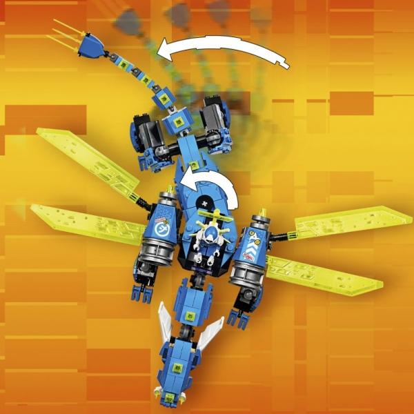 Lego Ninjago: Cybersmok Jaya (71711)