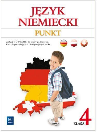 Punkt Język niemiecki Zeszyt ćwiczeń Klasa 4 Potapowicz Anna