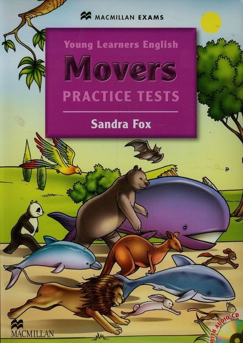 Young Learners English Movers Practice tests + CD Fox Sandra