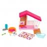 Barbie: Minizestaw - Świat Barbie - Domek dla psa (GRG75/GRG78)Wiek: 3+
