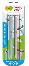 Długopis usuwalny Uszaki Pastel 0,5mm nieb. 2szt