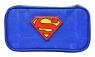 Piórnik owalny kompaktowy Superman