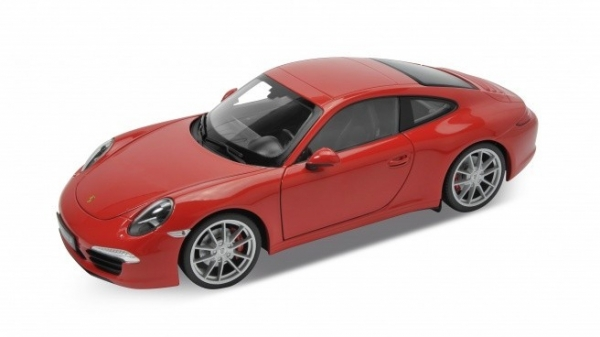 WELLY Porsche 911 (991) Carrera S (red)