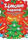 Zimowe zabawy Malowanki i łamigłówki dla dzieci