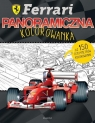 Ferrari Panoramiczna kolorowanka praca zbiorowa