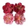 Kwiaty samoprzylepne 4szt. .