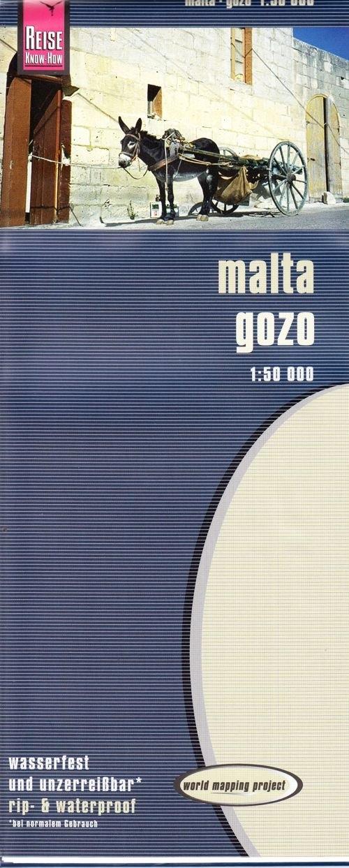 Malta Gozo mapa 1:50 000