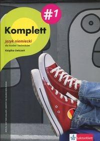 Komplett 1 Język niemiecki Zeszyt ćwiczeń z płytą CD + DVD (Uszkodzona okładka) Montali Gabriella, Mandelli Daniela, Czernhous Linzi Nadja, Niebrzydowska Bożena