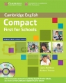 Compact First  for Schools SB without Answers +CD-ROM Barbara Thomas, Laura Matthews